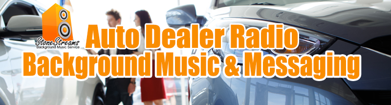 background music service for autodealers